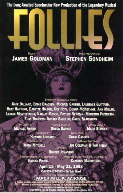 Follies at Paper Mill Playhouse